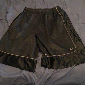 Athletech Athletic Black Shorts